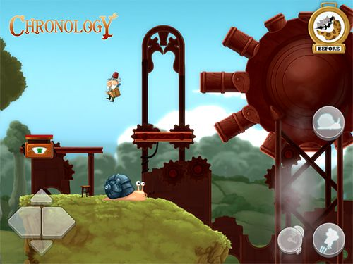 Screenshots of the Chronology game for iPhone, iPad or iPod.
