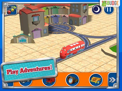 iPhone、iPad 或 iPod 版Chuggington: Traintastic adventures游戏截图。