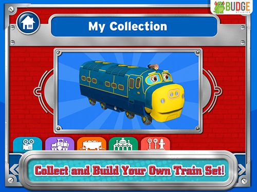 Screenshots of the Chuggington: Traintastic adventures game for iPhone, iPad or iPod.