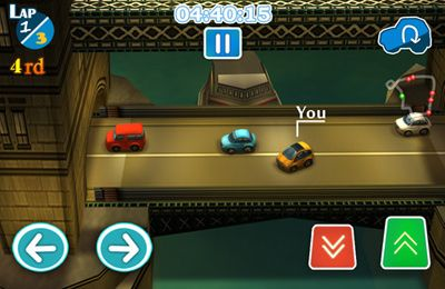 Kostenloser Download von CitiRacing – No Need for Speed für iPhone, iPad und iPod.