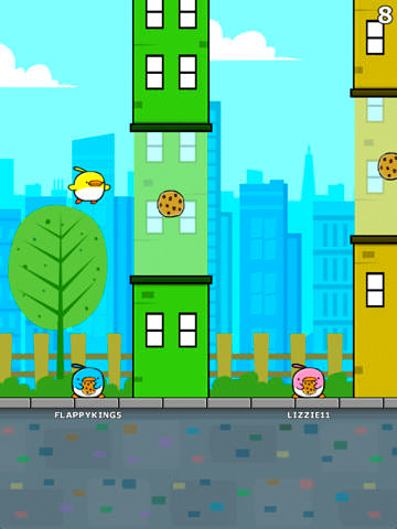 Download City bird iPhone free game.