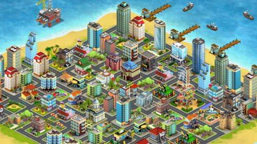 Capturas de pantalla del juego City island: Premium para iPhone, iPad o iPod.