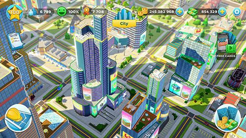 Screenshots vom Spiel Citytopia: Build your dream city für iPhone, iPad oder iPod.