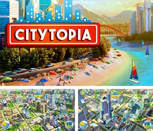 In addition to the game Angry zombies: Bike race for iPhone, iPad or iPod, you can also download Citytopia: Build your dream city for free.
