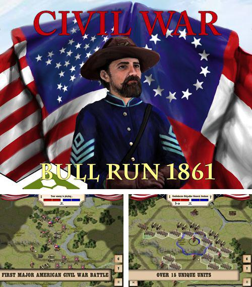 In addition to the game Cartoon defense 4: Revenge for iPhone, iPad or iPod, you can also download Civil war: Bull Run 1861 for free.