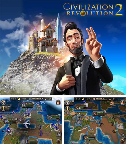 In addition to the game Space Qube for iPhone, iPad or iPod, you can also download Civilization: Revolution 2 for free.