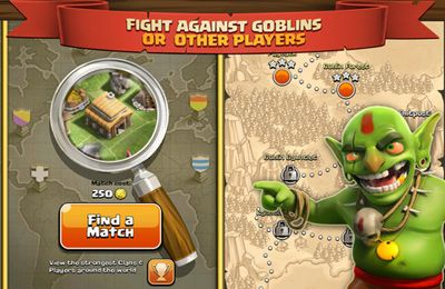Kostenloses iPhone-Game Clash of Clans herunterladen.