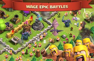 Игра Clash of Clans для iPhone