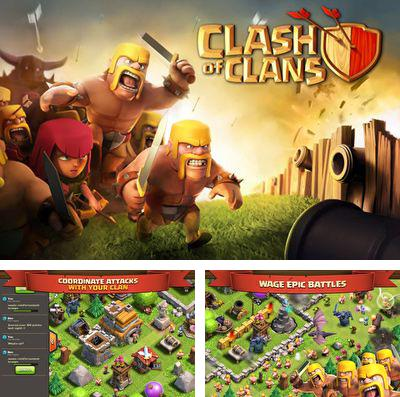 In addition to the game Heroes of Paragon for iPhone, iPad or iPod, you can also download Clash of Clans for free.