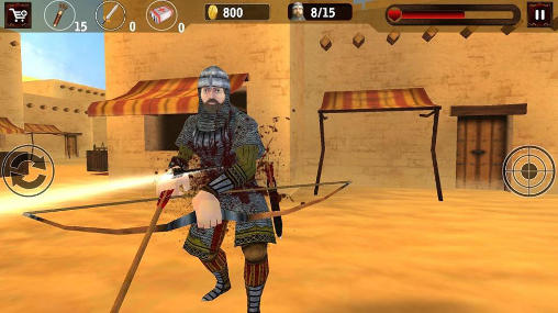 Free Clash of Egyptian archers download for iPhone, iPad and iPod.