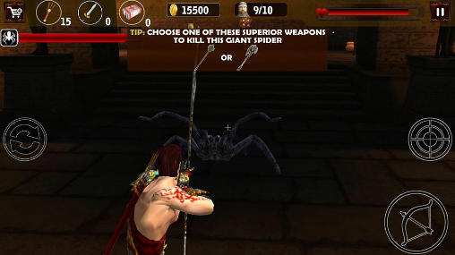 Screenshots of the Clash of Egyptian archers game for iPhone, iPad or iPod.