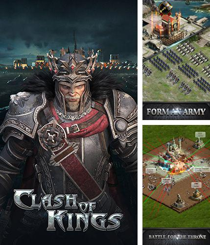 In addition to the game Zombies !!! for iPhone, iPad or iPod, you can also download Clash of kings for free.