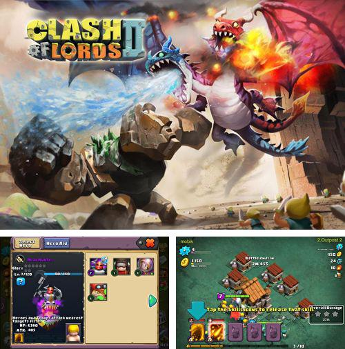 Kostenloses iPhone-Game Clash of Lords 2 See herunterladen.