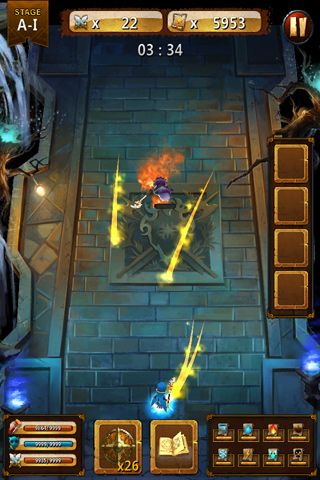 Capturas de pantalla del juego Clash of magic para iPhone, iPad o iPod.
