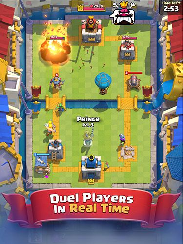 Baixe Clash royale gratuitamente para iPhone, iPad e iPod.