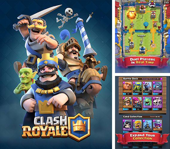 In addition to the game Freestyle baseball for iPhone, iPad or iPod, you can also download Clash royale for free.
