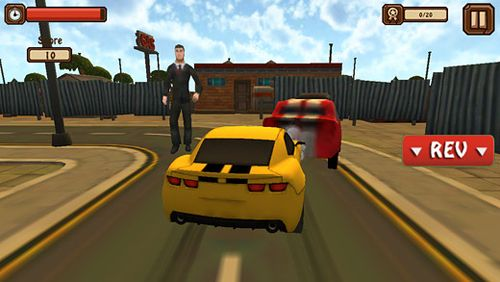 Free Classic car: 3D city smash download for iPhone, iPad and iPod.
