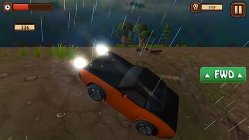 Screenshots vom Spiel Classic car: 3D city smash für iPhone, iPad oder iPod.