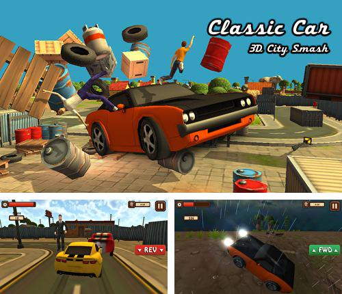 In addition to the game Fire Busters for iPhone, iPad or iPod, you can also download Classic car: 3D city smash for free.