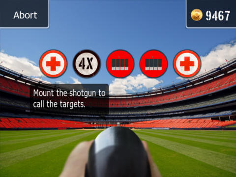 Capturas de pantalla del juego Clay Hunt para iPhone, iPad o iPod.