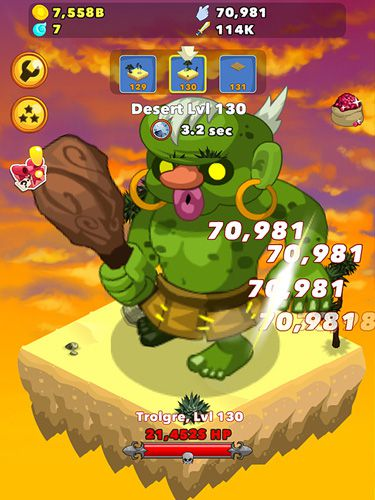 Download Clicker heroes iPhone free game.