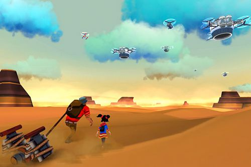 Игра Cloud chasers: A Journey of hope для iPhone