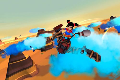 Скриншот игры Cloud chasers: A Journey of hope на Айфон.