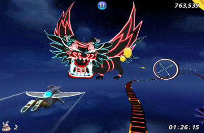 Capturas de pantalla del juego Cloud Spin para iPhone, iPad o iPod.