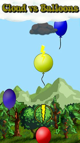Cloud vs. balloons: Light