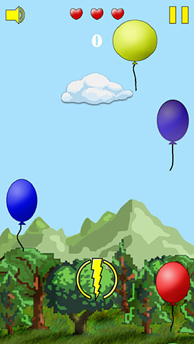 Kostenloser Download von Cloud vs. balloons: Light für iPhone, iPad und iPod.