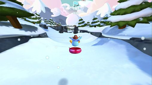 Download Club penguin: Sled racer iPhone free game.