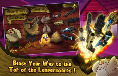 Download Cluck 'n' Load: Chicken & Egg Defense, Full Game iPhone free game.