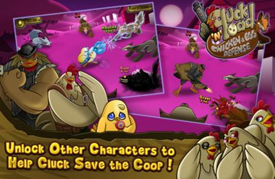 Kostenloser Download von Cluck 'n' Load: Chicken & Egg Defense, Full Game für iPhone, iPad und iPod.