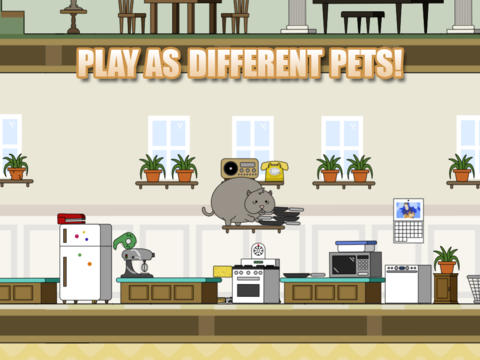 Descarga gratuita de Clumsy Cat para iPhone, iPad y iPod.