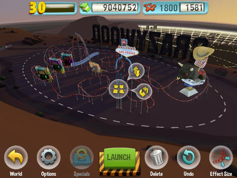 Download Coaster Crazy Deluxe iPhone free game.