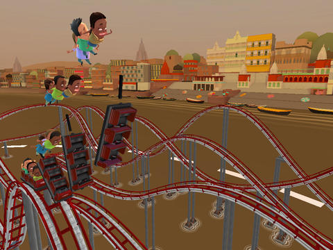 Free Coaster Crazy Deluxe download for iPhone, iPad and iPod.