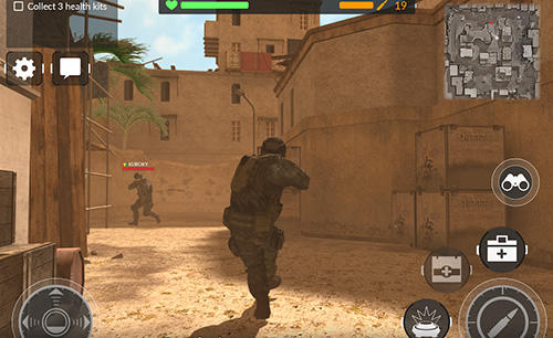 Download Code of war: Shooter online iPhone free game.