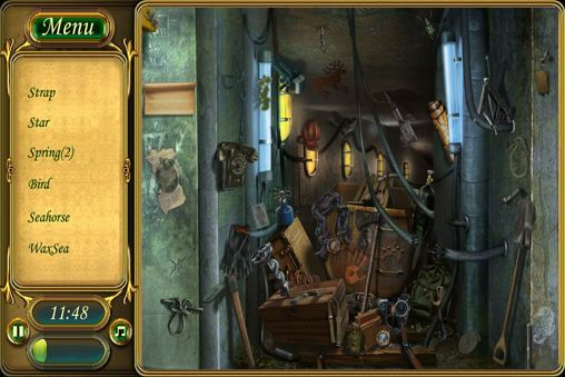 Screenshots vom Spiel Collection of Stradivarius: Riddle violins für iPhone, iPad oder iPod.