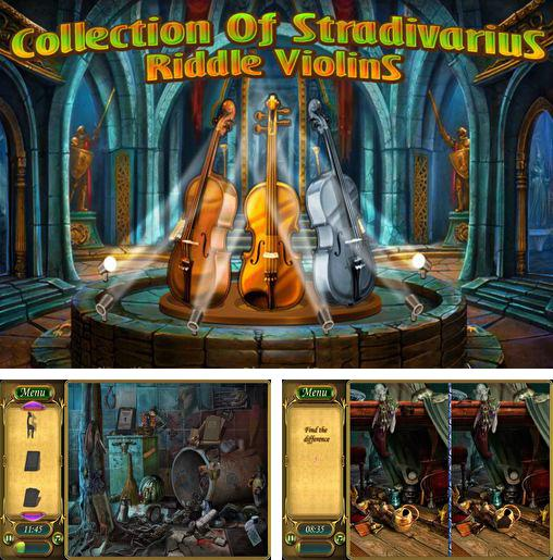 Alem do jogo Deminions liberados para iPhone, iPad ou iPod, voce tambem pode baixar A coleção de Stradivarius: Enigma do violino, Collection of Stradivarius: Riddle violins gratuitamente.