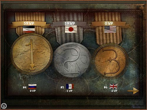 Écrans du jeu Colonial conquest pour iPhone, iPad ou iPod.