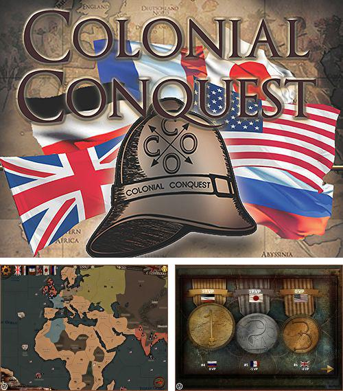 In addition to the game Magic Gem for iPhone, iPad or iPod, you can also download Colonial conquest for free.