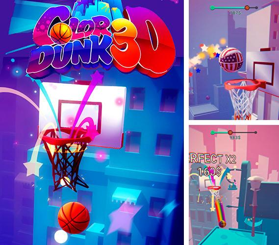 Download Color dunk 3D iPhone free game.