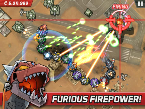 Écrans du jeu Colossatron: Massive world threat pour iPhone, iPad ou iPod.