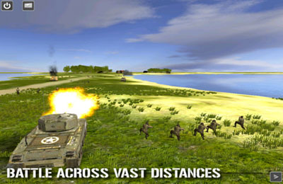 Screenshots do jogo Combat Mission : Touch para iPhone, iPad ou iPod.