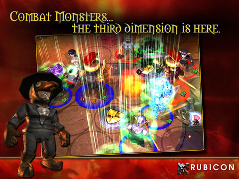 Capturas de pantalla del juego Combat Monsters para iPhone, iPad o iPod.