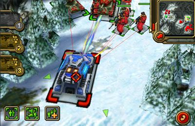 Screenshots vom Spiel Command & Conquer. Red Alert für iPhone, iPad oder iPod.