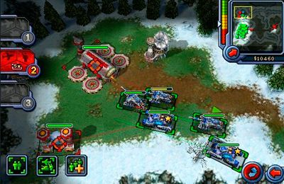 Screenshots of the Command & Conquer. Red Alert game for iPhone, iPad or iPod.