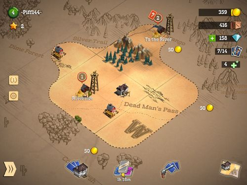 Screenshots do jogo Compass point: West para iPhone, iPad ou iPod.