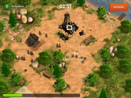 Screenshots vom Spiel Compass point: West für iPhone, iPad oder iPod.