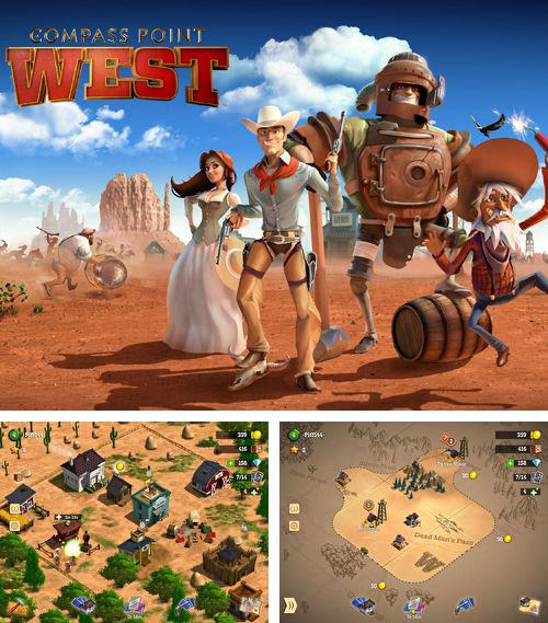 In addition to the game Cavorite for iPhone, iPad or iPod, you can also download Compass point: West for free.